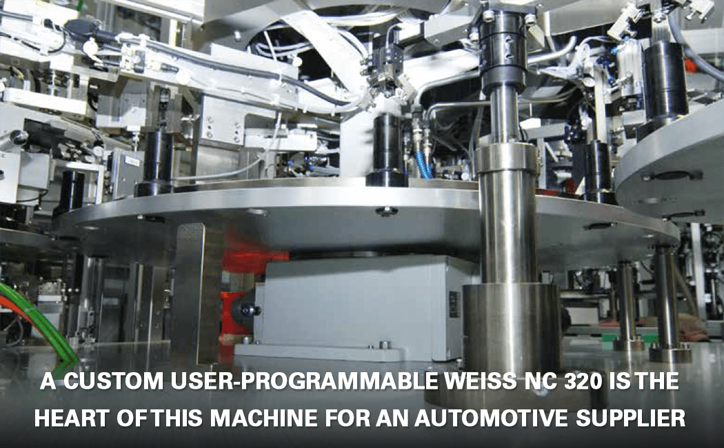 WEISS NC 320 user-programmable rotary index table